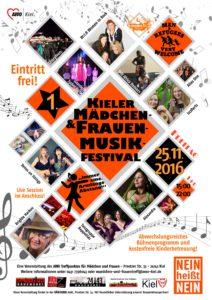1. Kieler Mädchen- und Frauenmusikfestival